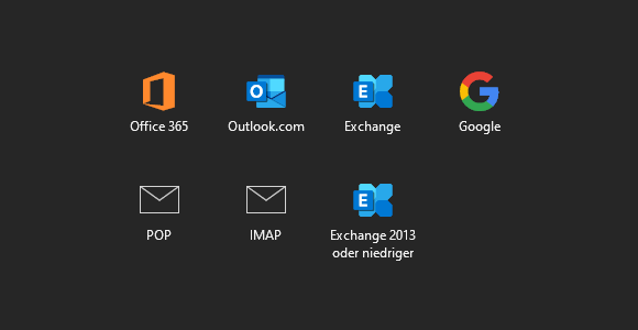 E-Mail-Konto in Outlook 2019 einrichten
