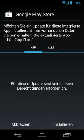 google play app download startet nicht
