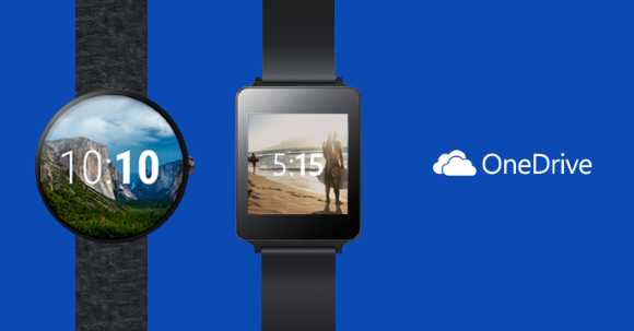 OneDrive App für Android Wear Smartwatches
