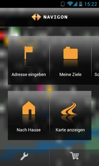 navigon app f r android erh lt update auf version 4 1 2. Black Bedroom Furniture Sets. Home Design Ideas