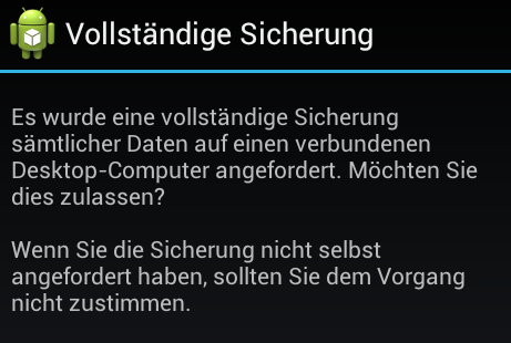 Nexus S mit Android 4.0.4 Ice Cream Sandwich Backup