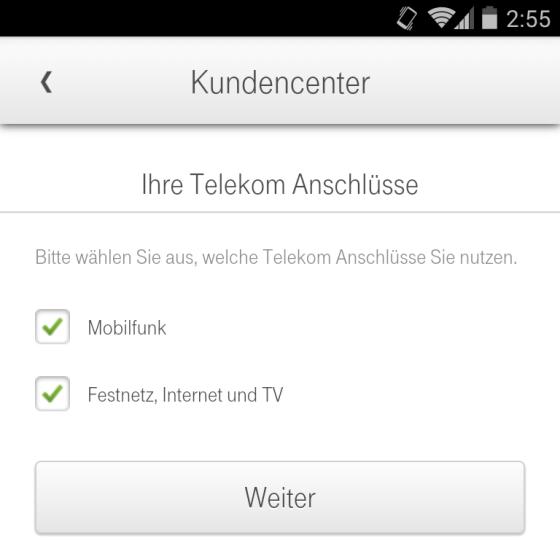 die telekom kundencenter app f r android unterst tzt jetzt auch festnetz kunden. Black Bedroom Furniture Sets. Home Design Ideas