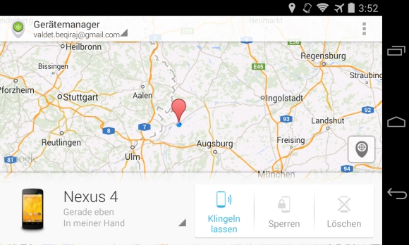 Android Geräte-Manager für Android