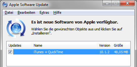 Apple iTunes 10.1.2