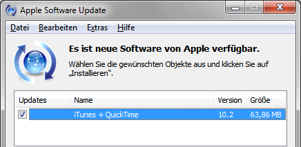 Apple iTunes 10.2
