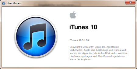 Apple iTunes 10.3.1