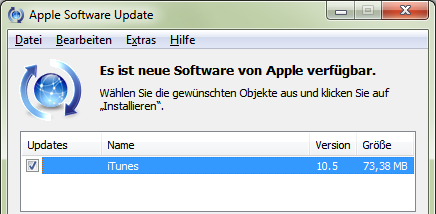 Apple iTunes 10.5