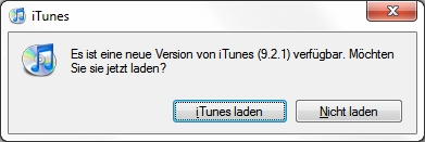 Apple iTunes 9.2