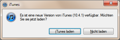 Apple iTunes 10.4.1