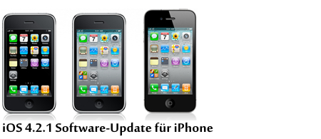 iOS 4.2.1 Software-Update für iPhone