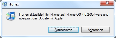iPhone OS 4.0.1 Software-Update