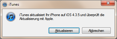 iOS 4.3.5 Software-Update für iPhone, iPad und iPod touch