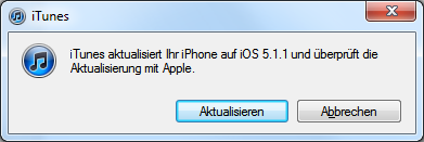 iOS 5.1.1 für die GSM Version des iPhone 4