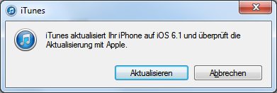 iOS 6.1.4 Software Update für iPhone 5 und iPad Mini