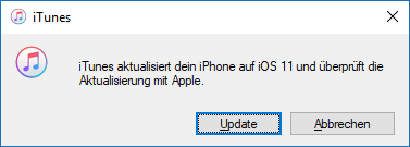 iOS 11 für iPhone, iPad und iPod touch