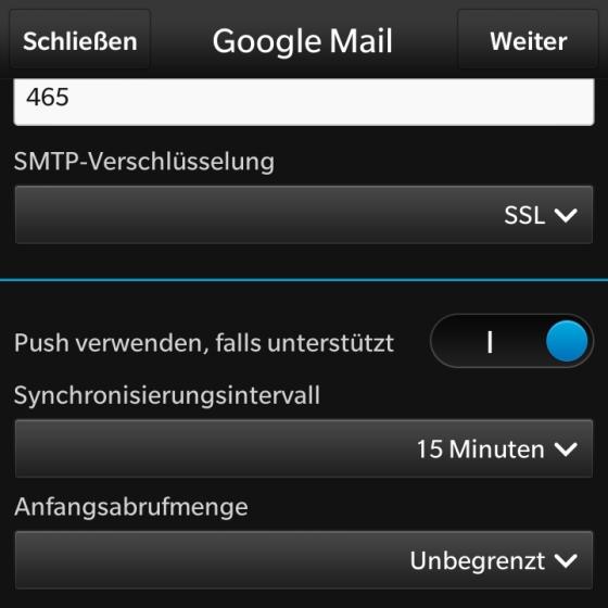 Gmail Verschlüsselung Einstellen