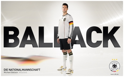 Die Nationalmannschaft -  Michael Ballack Wallpaper