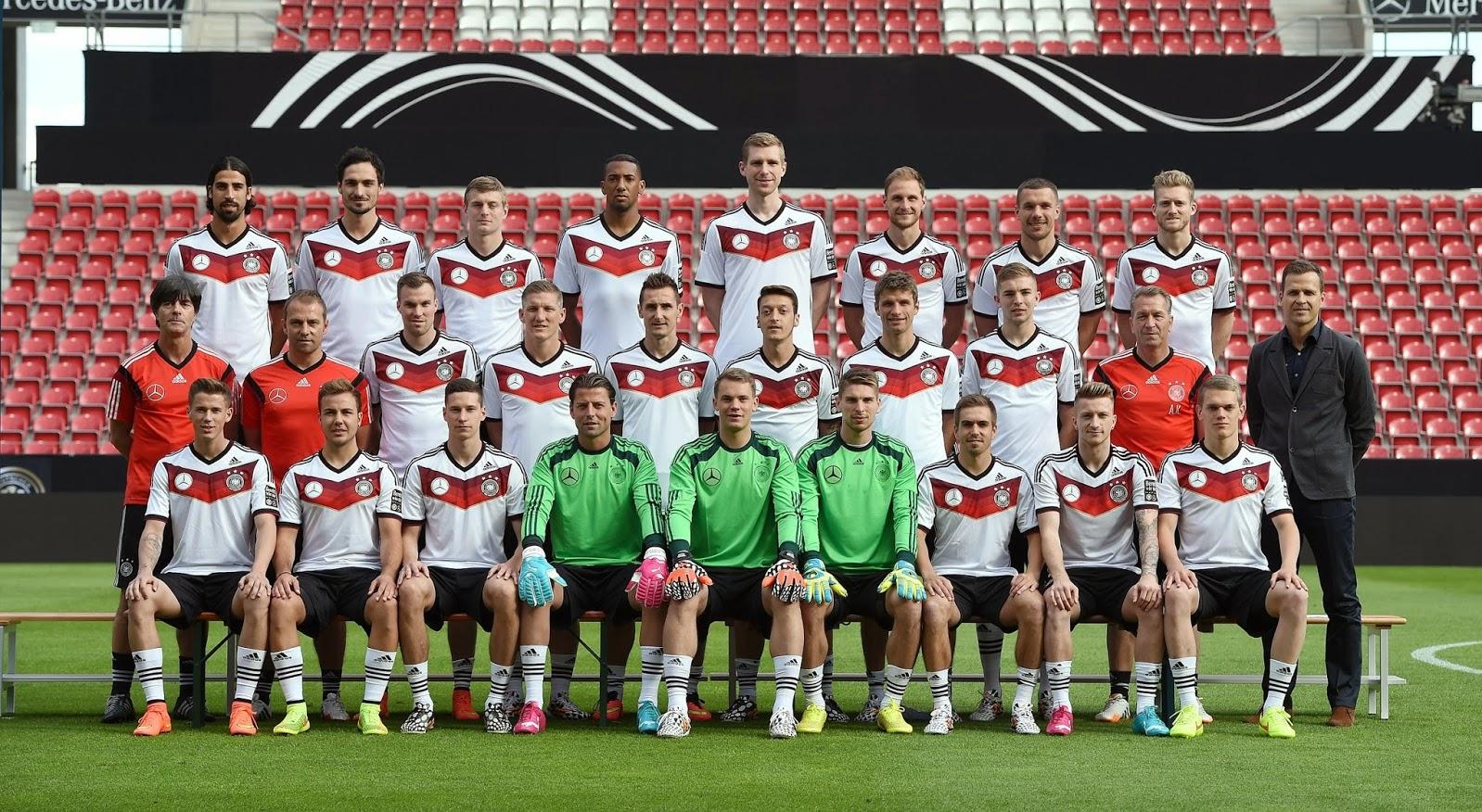 Deutsche Fußballnationalmannschaft Spieler