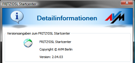 FRITZ!DSL Software Version 02.04.03