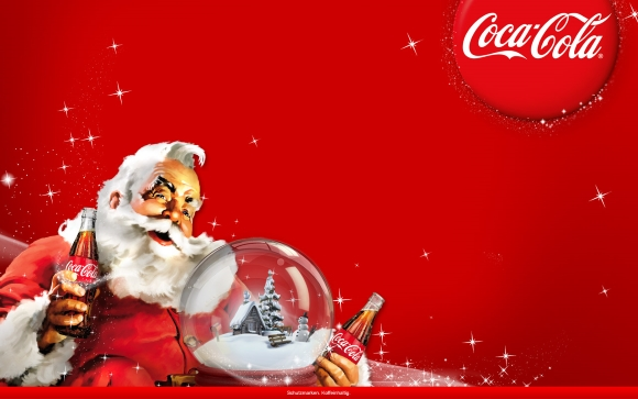 weihnachts wallpaper von coca cola 2011. Black Bedroom Furniture Sets. Home Design Ideas