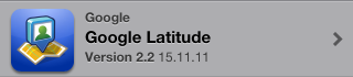 Google Latitude für iPhone