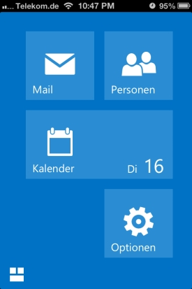 how to add outlook web app to iphone mail