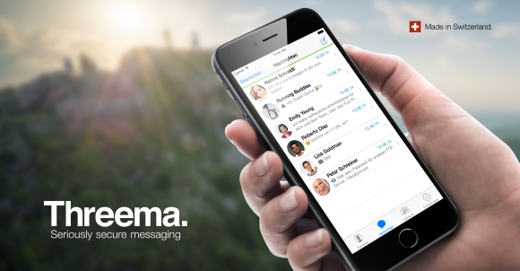 Threema App für iPhone und iPod touch