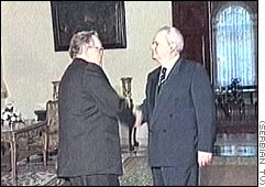 Milosevic and Ahtissari