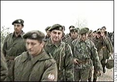 Serb forces