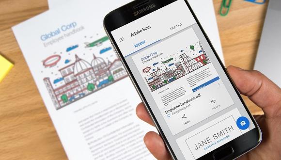 Adobe Veröffentlicht Scan App Für Ios Und Android It