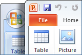 Get a printable list of Office 2010 commands and buttons