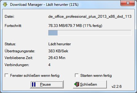 Office Professional Plus 2013 RTM ISO File Name - DE