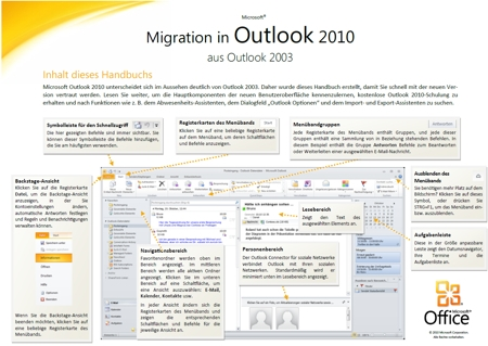 Migration in Outlook 2010 aus Outlook 2003