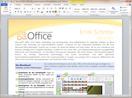 Office 2010-Benutzerressourcen