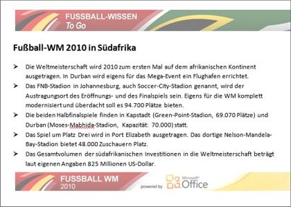 word vorlage f r die fussball wm 2010