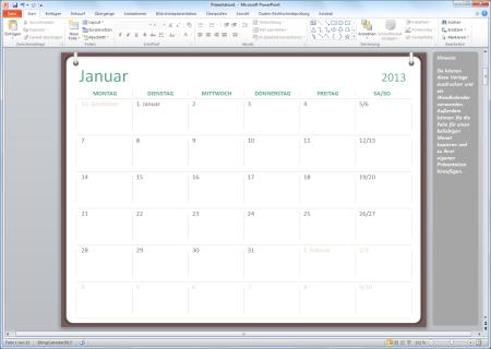 kalender 2013 vorlagen f r microsoft powerpoint
