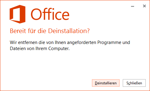 office deinstallieren mac