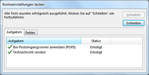Outlook.com E-Mail-Konto in Outlook hinzufügen
