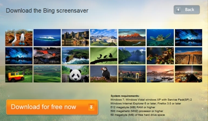 Bing Screensaver - Amazing images from Bing