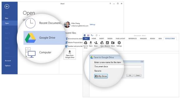 how to add google drive on mac share