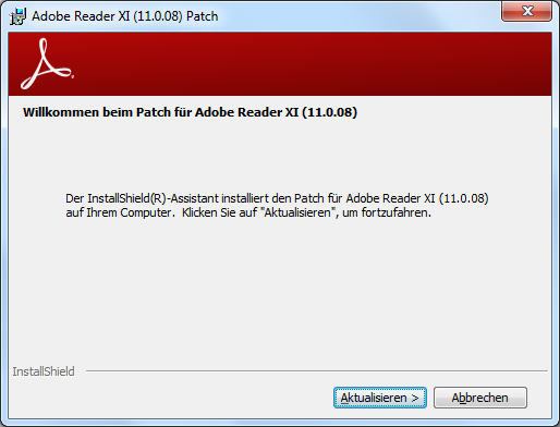 Adobe Reader und Acrobat 11.0.8 Update