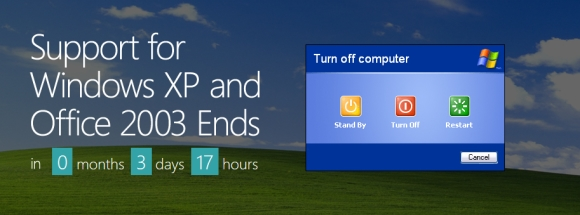 Countdown to End-of-Support for Windows XP