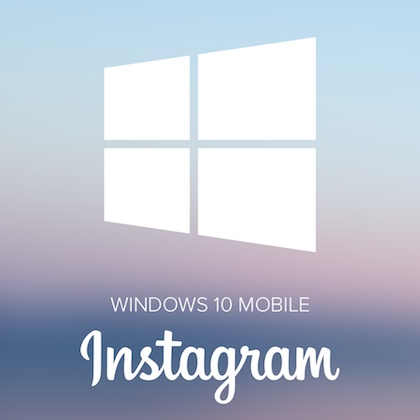 Instagram App für Windows 10