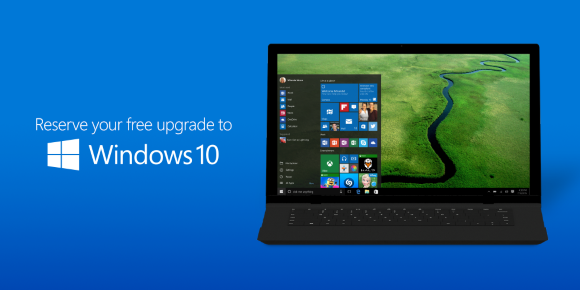 Reserve your Windows10 upgrade today