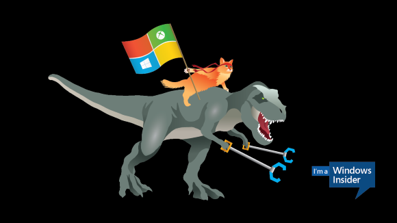 Windows 10 Battlecat Trex Wallpaper