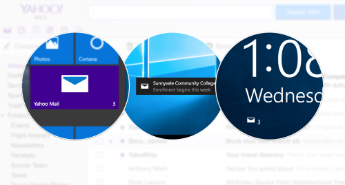 Yahoo Mail App für Windows 10