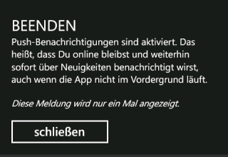 ICQ für Windows Phone