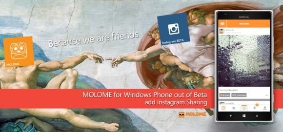 Molome App for Windows Phone 8 Devices