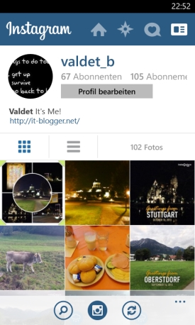 Instagram App für Windows Phone 8