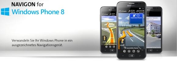 NAVIGON für Windows Phone Version 5.1.2 verfügbar